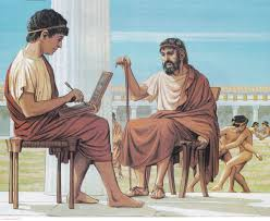 A Greek School in Ancient Athens