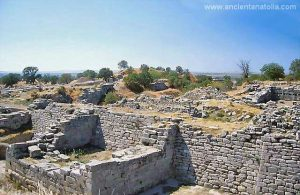 Ancient Greek Troy City