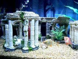 Ancient Greek Decor Aquarium