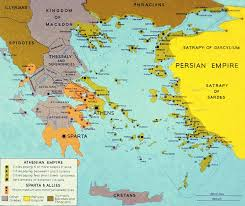 Ancient Greek Map In Greece Ancient Greece Facts Com
