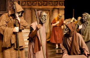 About tragedy of the ancient Greek drama