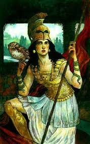 Ancient Greece Gods_Ancient Greek goddess of Wisdom