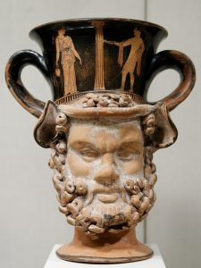 Ancient Greek pottery in the Metropolitan Museum of Art