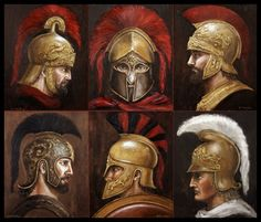 Ancient Greece Sparta Warriors greece