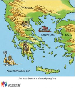 Ancient greece Geography and Antique maps