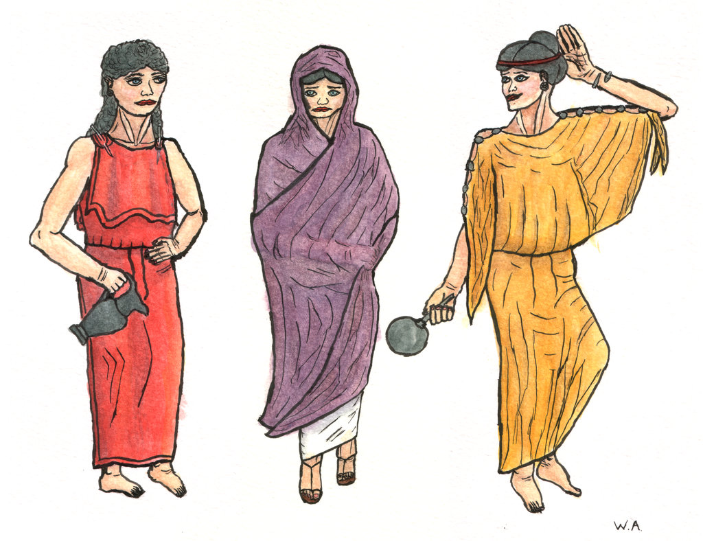 Athenian Women Clothing