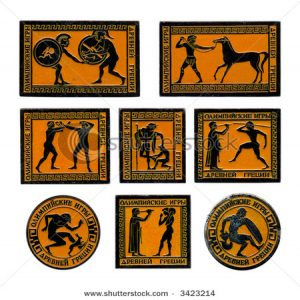 Ancient Greece Games_Game art and Drawings