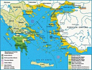primary information sources on history Greek monuments ships