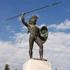Monuments in Greece Statue of Leonidas