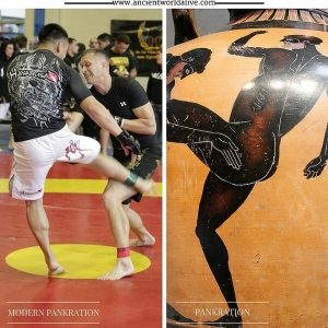 Ancient Greece Games_Pankration has turned into Olympic sport