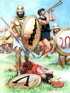 Peloponnesian war in greece