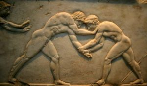 Ancient Olympic Wrestling