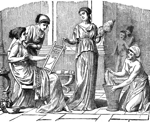 daily life of women in ancient greece