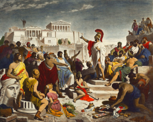 democracy of the greece