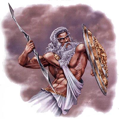 Ancient Greece Zeus God