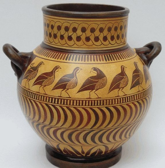 Ancient Greek Pottery Designs Greek Pottery Shapes