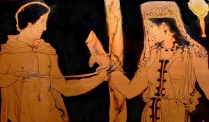 ancient greek wedding