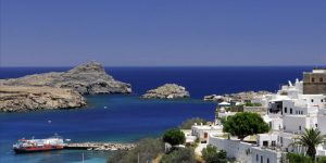 ancient river lindos